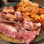 神戸牛・個室焼肉 大長今 - ハラミと上ミノ