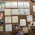 麺屋 青山 - 沢山のサイン