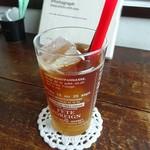 ゼルコーバ - ゆずの紅茶(アイス)380円