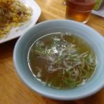 大黒屋 - スープ付