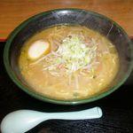 拉麺厨房 北斗   - 北斗味噌らーめん 750円、味付タマゴ 100円