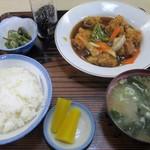 88765057 - スブタ定食(850円)