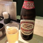 京ばし松輪 - 瓶ビール  キリン クラシックラガー 550円