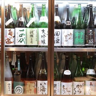 ほたる月では【日本酒コース】