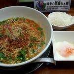88767255 - 「汁なし担々麺」+「ミニごはん」