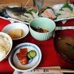 松 - 料理写真:刺身3点盛り定食     ¥2780