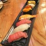 鮨 和食 ひとしずく - 竹にぎり(2500円)
