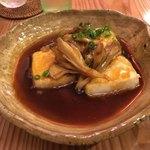 鮨 和食 ひとしずく - 揚げ出し豆腐(500円)