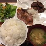 ミート カネショウ - おすすめセット 1200円(税別) ご飯大盛り