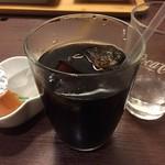 ミート カネショウ - 満足出来る量のアイスコーヒー