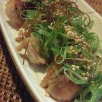 インディ庵 - 料理写真:チキン塩焼きネギぽん酢