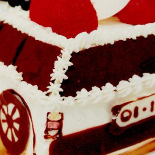 世界に1つだけのケーキも創れます!オーダー自由の立体ケーキ♪