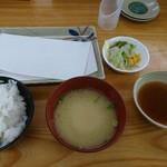 88772153 - 四季の天ぷら定食 天ぷら以外