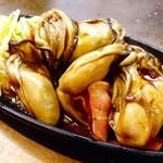 お好み焼き小町 - [冬季限定]広島産カキ鉄板焼
