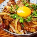 お好み焼き小町 - うま辛豚丼 600円