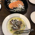 キュイジーヌ・スワ - 料理写真:鰯のカルバッチョとサーモンマリネ