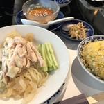 華都飯店 - ◆「棒鶏々冷麺」「ゴマダレ」「ミニ炒飯」「搾菜」
