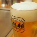 お好み焼き小町 - 生ビール 450円