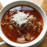 あまからや - 小子湯麺(勝浦タンタンメン) (730円)