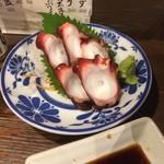 寅屋 - 柳タコのお刺身