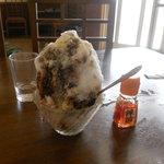 レストラン 大師 - かき氷の大きさ検証