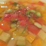 ナチュラルレストラン +green - お野菜いっぱいのスープ