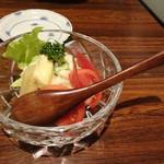 蘭亭ぽん多 - 野菜サラダ