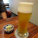 蘭亭ぽん多 - 生ビール
