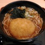名代 箱根そば - 料理写真:コロッケそば(カレー味) 420円