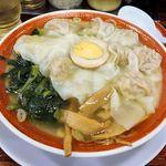 広州市場 - 広州市場 西新宿店(広州雲吞麺 799円 ※税込)