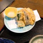 尾道和食レストラン ゆう家 - 野菜の天ぷら