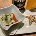 蔵出し和酒と江戸前天ぷら 甲州街道 賽 - 飲み放題のビールが瓶なのは嬉しいかぎり