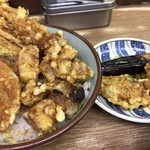 豊野丼 - 鮪天丼