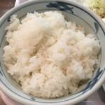 ホトリ - 大盛りご飯アップ