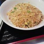 紅華 - 紅華のランチセット麺+ミニ丼物750円ミニチャーハン(11.06)