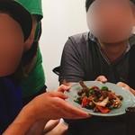 盛苑 - 酢豚と知人×2  掲載許可済