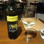 コルティヴァーレ - 1杯目の白ワイン