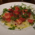コルティヴァーレ - 本日の鮮魚のカルパッチョ