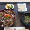 ラブロ恋路 - 料理写真:能登牛玉ねぎ醤油丼