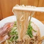 名もなきラーメン - 麺リフト