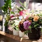 餃子とスパークリング バブルス - 沢山の開店祝い