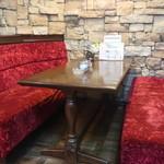 ペリーヌ - テーブル席
