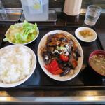 GOBAN - 麻婆ナス ※本日の定食