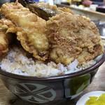 豊野丼 - 穴子天丼 大盛り