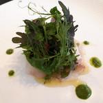 東洋軒 - 真鯛のカルパッチョ