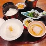 88794101 - 博多鯛茶朝食950円