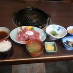 ろばた - 料理写真:ジンギスカン定食