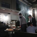 Be Terrace SECONDHOUSE -  B.B.Q. 開始〜♬