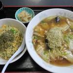 中国料理の店 ビックチャイナ - 昆布セット(1150円)