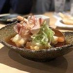 鴨と豚 とんぺら屋 - 揚げ出し豆腐